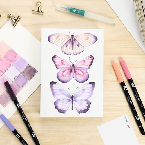 Watercoloring Canvas Sets