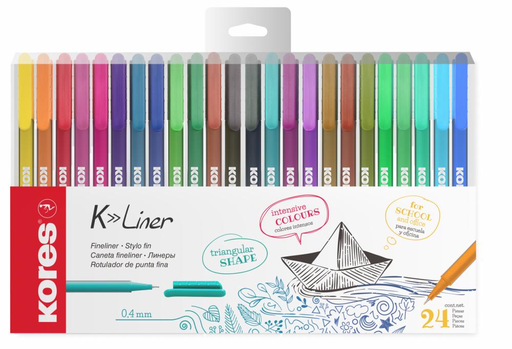 K-Liner sada 24 barev