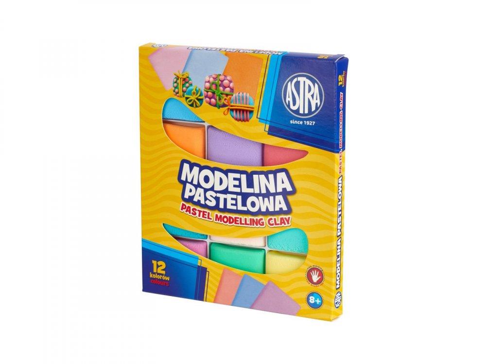 Modelina ASTRA PASTEL 12 barev