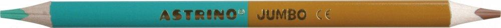 Pastelky Astrino obousranné Jumbo 12/24 barev