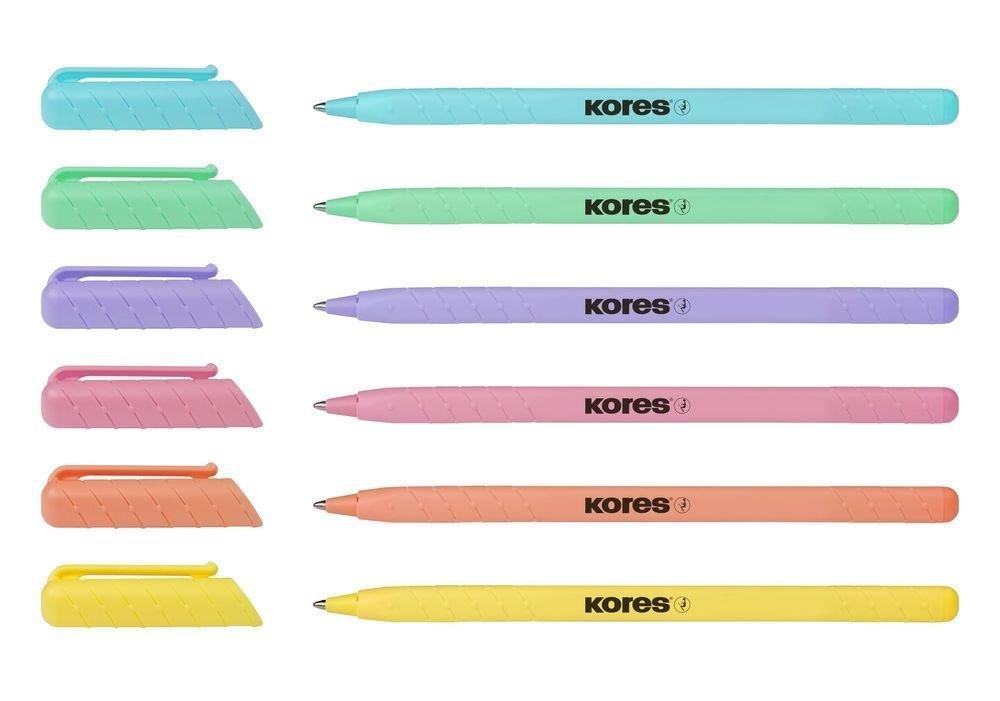 Kuličkové pero K0 Pen pastel, mix 6 barev