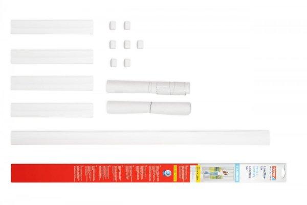 Lamelová síť proti hmyzu STANDARD, do dveří, bílá, 0,95m x 2,20m