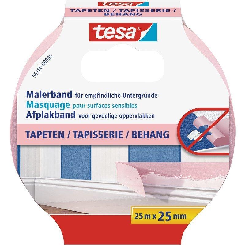 Maskovací páska Precision Sensitive na citlivé povrchy, fialová, 25m x 30mm