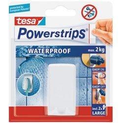 Waterproof Háčky, voděodolný, na zubní kartáček, bílý plast, nosnost 2kg, v balení 1ks
