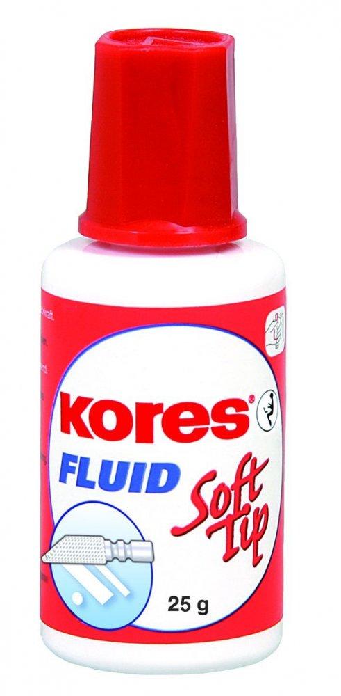 Opravný lak Fluid Soft Tip 25 g - s houbičkou