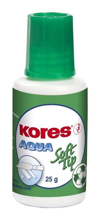Opravný lak Aqua Soft tip 25 g - s houbičkou