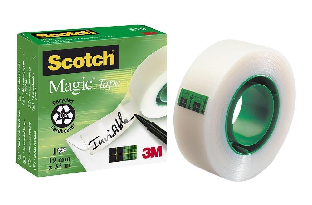 3M Scotch - Magic lepicí páska, 19 mm × 33 m, 1 role