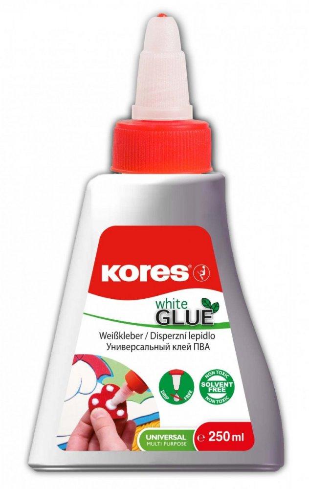 White glue 250 ml, rychlouzávěr, lepí i dřevo