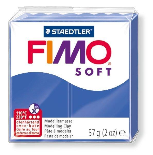 FIMO soft tmavě modrá 57g