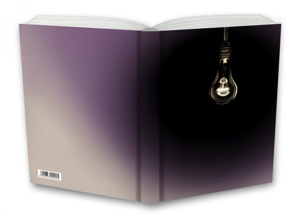 Tečkovaný zápisník, černé světlo, 195 x 135 mm