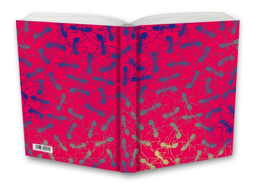 Tečkovaný zápisník, mravenci, 195 x 135 mm
