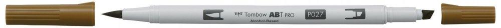 Tombow Oboustranný lihový fix ABT PRO, dark ochre