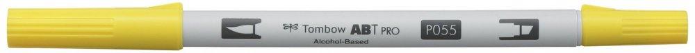 Oboustranný lihový fix ABT PRO se dvěma hroty, process yellow