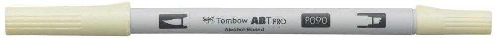 Oboustranný lihový fix ABT PRO se dvěma hroty, baby yellow