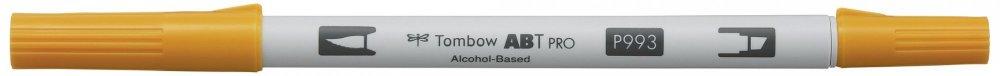 Oboustranný lihový fix ABT PRO se dvěma hroty, chrome orange
