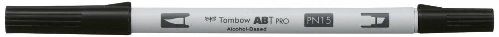 Tombow Oboustranný lihový fix ABT PRO, black