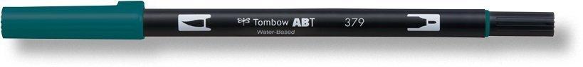 Oboustranný štětcový fix ABT Dual Brush Pen, jade green
