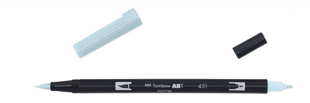 Tombow Oboustranný štětcový fix ABT Dual Brush Pen, sky blue