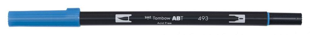 Tombow Oboustranný štětcový fix ABT Dual Brush Pen, reflex blue