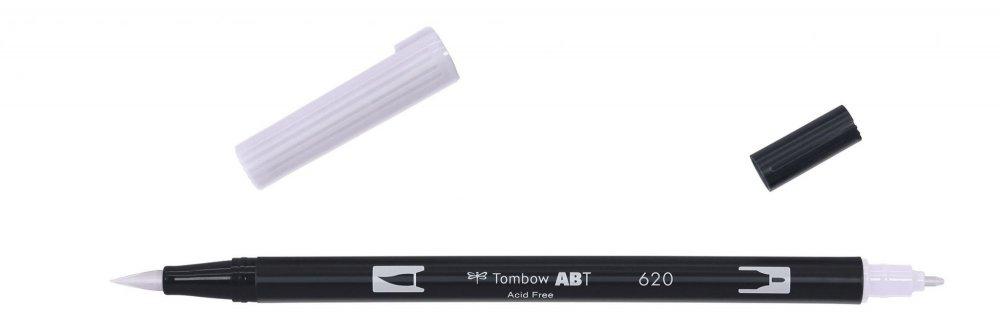 Tombow Oboustranný štětcový fix ABT Dual Brush Pen, lilac
