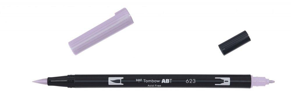 Oboustranný štětcový fix ABT Dual Brush Pen, purple sage