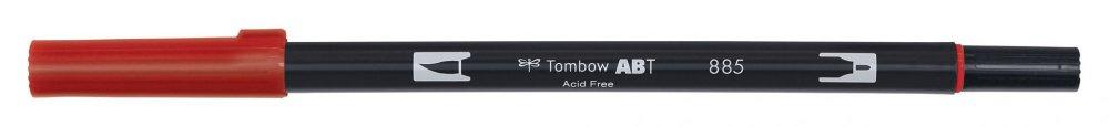 Oboustranný štětcový fix ABT Dual Brush Pen, warm red