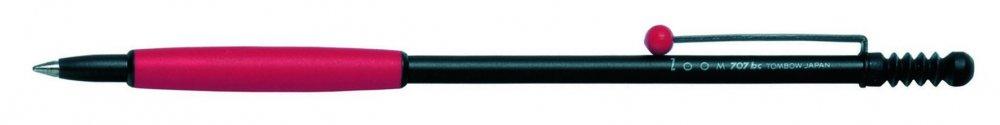 Kuličkové pero ZOOM 707 červené