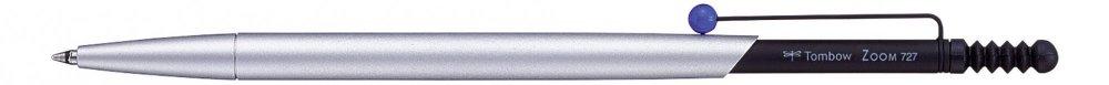 Tombow Kuličkové pero ZOOM 727 stříbrná/černá/modrá