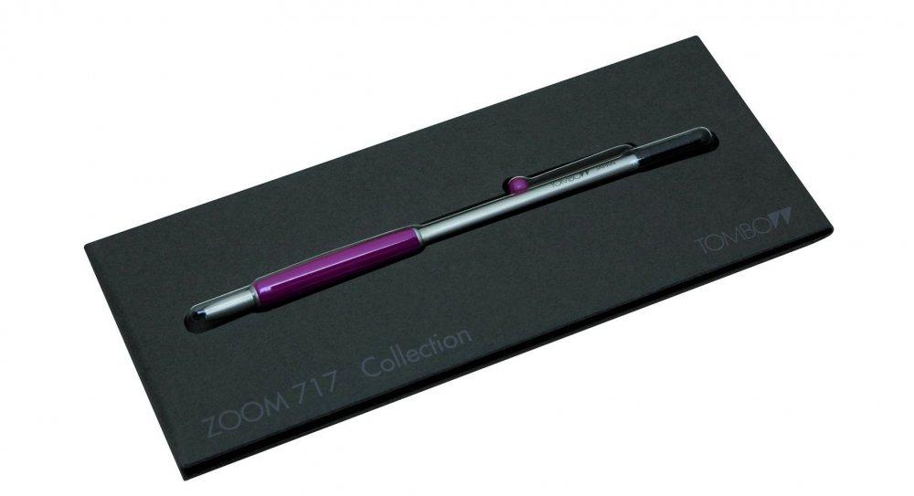 Tombow Mini kuličkové pero ZOOM 717 oranžové