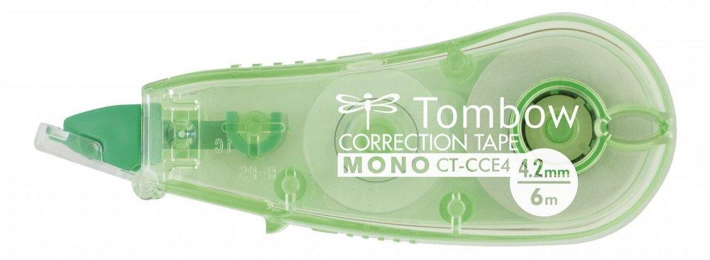 Tombow Korekční páska MONO CCE, transparentní zelená