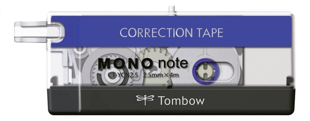 Korekční páska MONO note, modrá/transparentní/černá