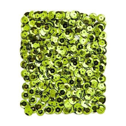 Flitry metalizované 9 mm, 15 g -  světle zelené