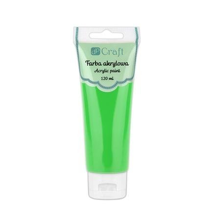Akrylová barva, 120 ml – zelená