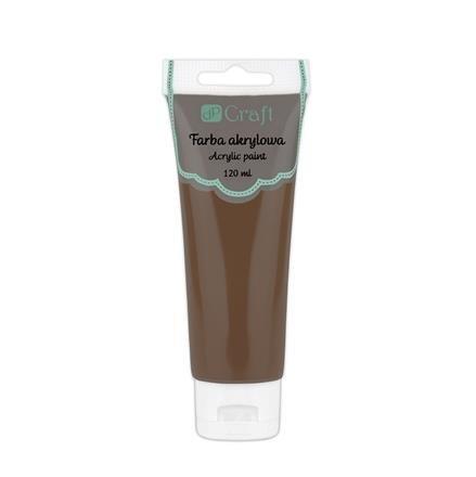 Akrylová barva, 120 ml – čokoládová