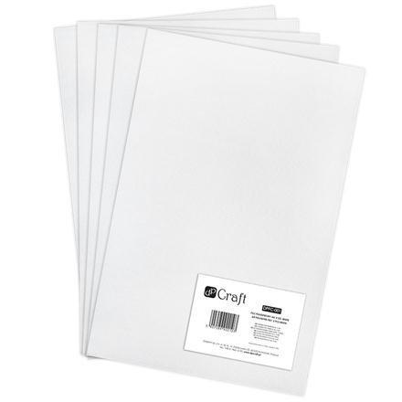 Filc polyesterový – bílý A4