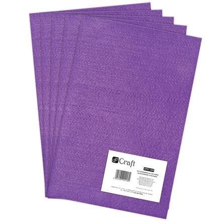 Filc polyesterový – fialový A4