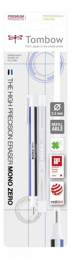 Tombow Gumovací tužka Mono Zero, 2,3 mm, blistr
