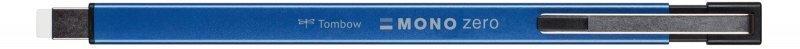 Tombow Gumovací tužka Mono Zero METAL, 2,5 mm x 5 mm, modrá