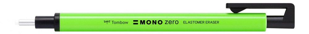Pryž Mono Zero NEON v tužce, kulatá koncovka 2,3 mm, zelená