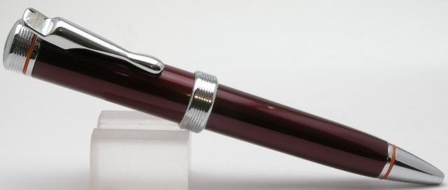 Kuličkové pero vínové