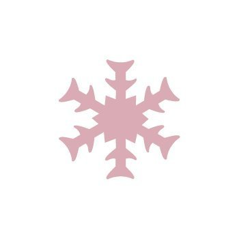 Dekorační děrovačka 1,6 cm – sněhová vločka 2