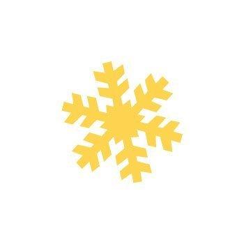 Dekorační děrovačka 2,5 cm – sněhová vločka 3