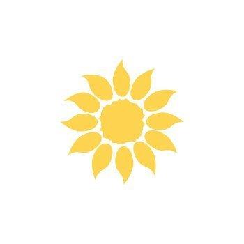 Dekorační děrovačka 2,5cm – slunečnice