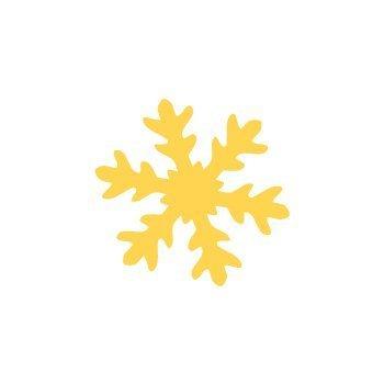 Dekorační děrovačka 3,7cm – sněhová vločka