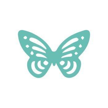 Dekorační děrovačka ažurová 3,7cm – motýl