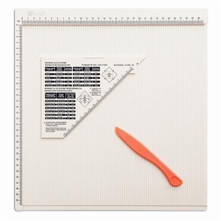 Rýhovací deska 30,5 x 30,5 cm
