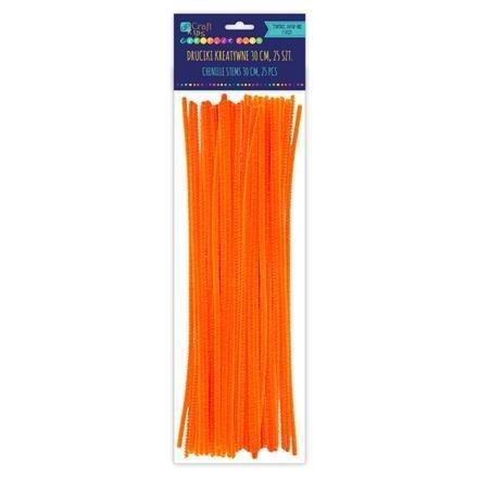 Drátky oranžové 25ks/30cm