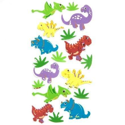 Pěnové samolepky - dinosauři, 18 ks