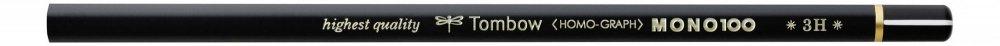 Tombow Tužka MONO 100, 3H, 12 ks