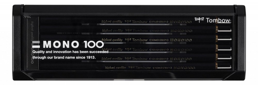 Tužka MONO 100, sada 12 ks různých tvrdostí